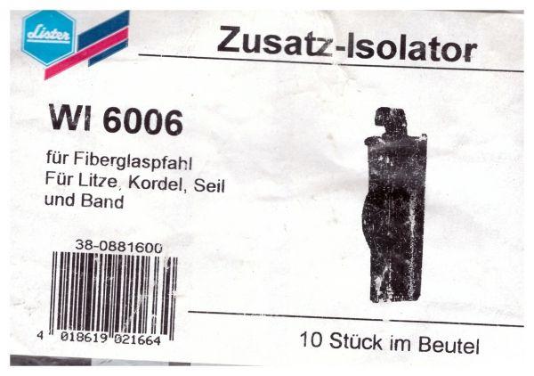 Lister - Zusatz-Isolator WI 6006