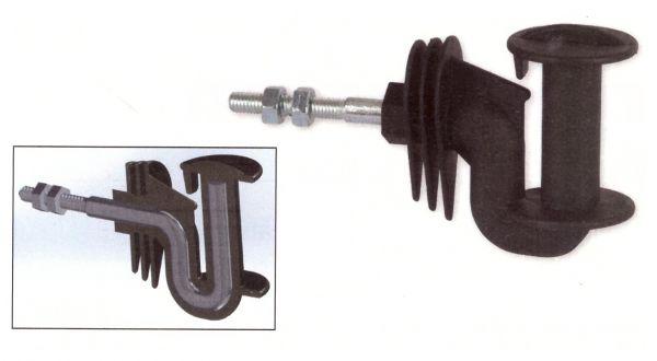 AKO - Band-Eckisolator Cavallo, metrisch