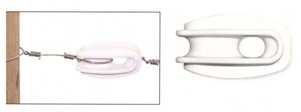 AKO - Abspannisolator Polyamid für Stahldraht
