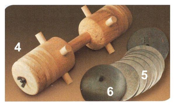 Eisenscheiben für AKAH-Apportierbock