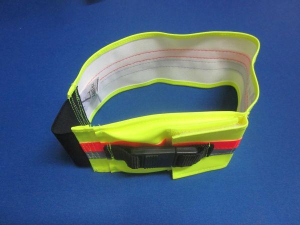 ZanTex - Hundesignalband, dehnbar, mit GPS-Tasche außen und Schließe