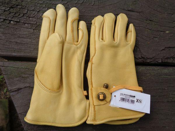 Wildleder-Handschuh, gefüttert
