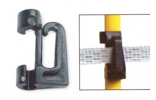 AKO - Ersatz- / Zusatzisolator für Oval-Fiberglaspfahl