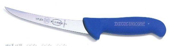 DICK - ERGOGRIP Ausbeinmesser, geschweifte Klinge, semi-flexibel