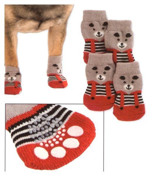 Hundesocken Bruno, 4er-Set